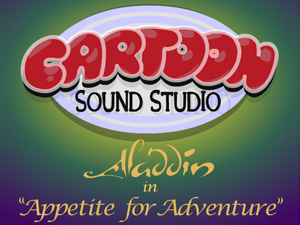 Aladdin Appetite for Adventure
