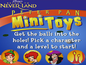 Peter Pan MiniToys